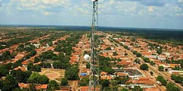 São Mateus do Maranhão-MA-Vista panorâmica-Foto:V. E.R.
