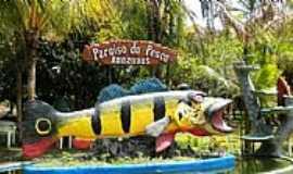 Presidente Figueiredo - Presidente Figueiredo-AM-Símbolo da Pescaria do Tucunaré-Foto:mochileiro.tur.br