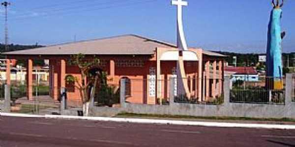 Presidente Figueiredo-AM-Igreja de N.Sra.Aparecida-Foto:mochileiro.tur.br