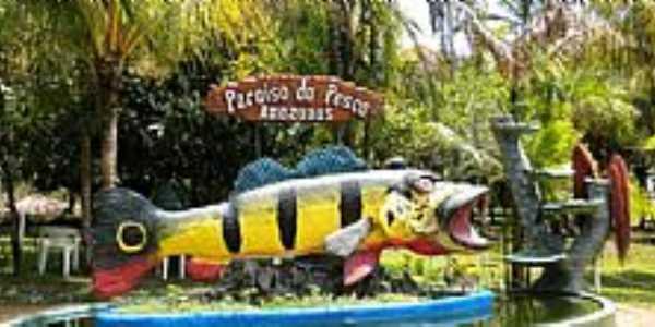 Presidente Figueiredo-AM-Símbolo da Pescaria do Tucunaré-Foto:mochileiro.tur.br