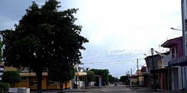 São Pedro da Água Branca-MA-Rua central-Foto:Fernando Cunha