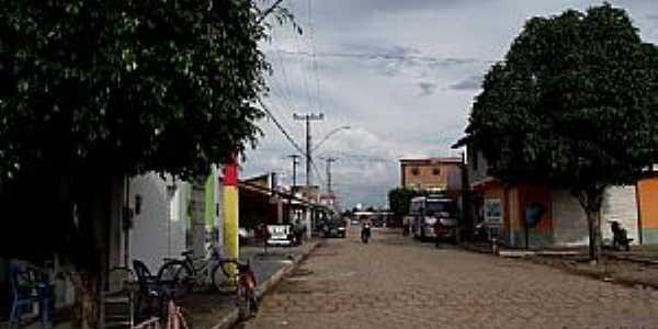 São Pedro da Água Branca-MA-Rua do Comércio-Foto:Fernando Cunha