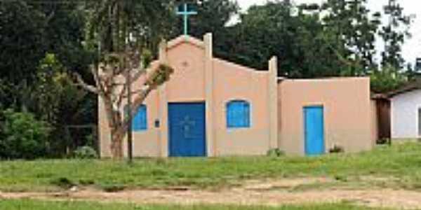 Igreja Cat�lica Alto da Pipira, por Darlene e Marinho.