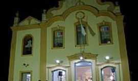Anadia - Igreja Matriz á noite por Walter Leite