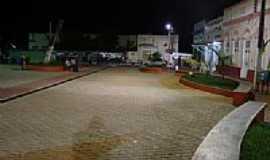 Anadia - Anadia-AL, sua praça principal à noite por Walter Leite