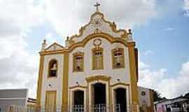 Anadia - Matriz de N.Sra.da Piedade em Anadia-Foto:Vicente A. Queiroz