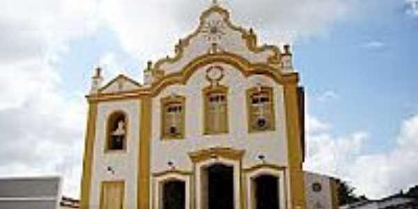 Matriz de N.Sra.da Piedade em Anadia-Foto:Vicente A. Queiroz