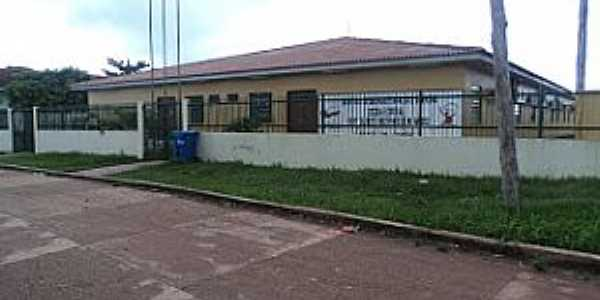 Repartimento-AM-Escola Estadual Gilberto Mestrinho-Foto:Wanderley Barroso