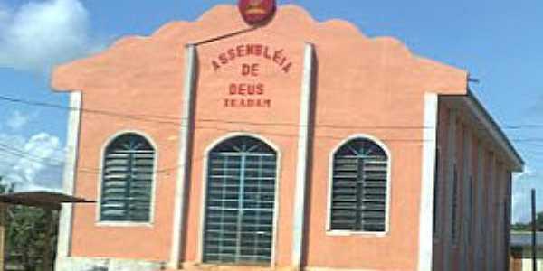 Repartimento-AM-Igreja Assembléia de Deus-Foto:Wanderley Barroso