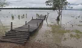 Serrano do Maranhão - Serrano do Maranhão-MA-Plataforma de pesca no rio Portinho na comunidade de Portinho-Foto:Jonhson Meiro Rodrigues