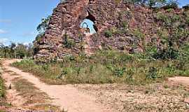 Tasso Fragoso - Tasso Fragoso-MA-Morro do Elefante-Foto:WLuiz