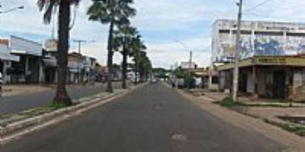 Avenida Teresina no centro de Timon-MA-Foto:JOSE WILSON