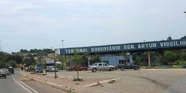 Rio Preto da Eva-AM-Terminal Rodoviário-Foto:Fritz Follmer
