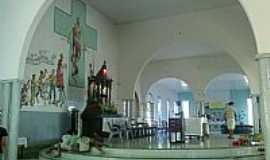 Vargem Grande - Vargem Grande-MA-Altar da Igreja de São Sebastião-Foto:kordeiro77