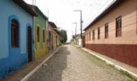 Viana - ruas com casas hist�ricas, Por Tharciana Cutrim Muniz