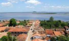 Viana - Vista do centro da cidade..., Por Tharciana Cutrim Muniz