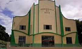 Vitorino Freire - Vitorino Freire-MA-Templo da Assembl�ia de Deus-Foto:s.castro.reis