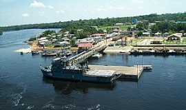 Santa Isabel do Rio Negro - Santa Isabel do Rio Negro-AM-Plataforma do Porto-Foto:mapio.net