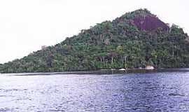 Santa Isabel do Rio Negro - Santa Isabel do Rio Negro-AM-Rio Negro e o Morro do Jacamim-Foto:leslie tavares