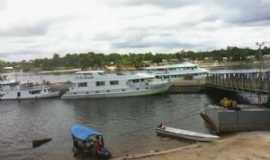 Santa Isabel do Rio Negro - Porto de Santa Isabel do Rio Negro/alta temporada de turismo, Por Dario B. Santos