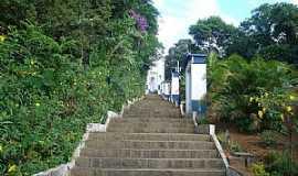 Abaíba - Abaíba-MG-Escadaria da Igreja-Foto:Rondineli Fernandes