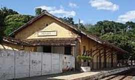 Abaíba - Estação Abaíba[antiga Santa Isabel]-Foto:estacoesferroviarias.