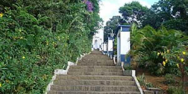 Abaíba-MG-Escadaria da Igreja-Foto:Rondineli Fernandes
