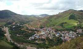 Abre Campo - Abre Campo-MG-Vista da cidade e o Morro da Antena-Foto:Antonio Geraldo de Sousa