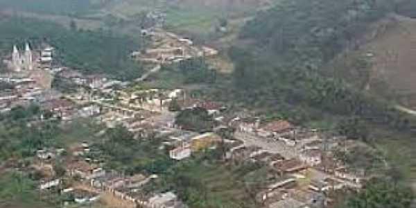 Abreus-MG-Vista aérea da cidade-Foto:geraldogemas.blogspot.com