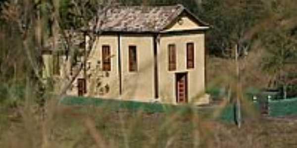 Capela Nossa Senhora da Concei��o vista da MG262-Foto:Geraldo Salom�o