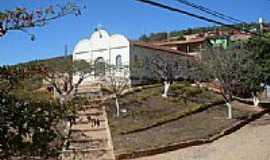 Água Branca de Minas - Praça e Igreja-Foto:Felix Santos