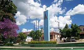 Aguanil - Aguanil-MG-Monumento na praça-Foto:67896436
