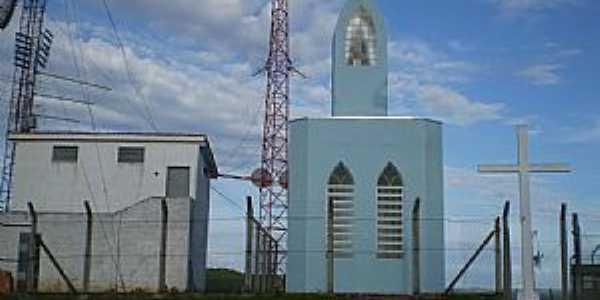 Aguanil-MG-Cruzeiro e Capela de N.Sra.Aparecida no Alto da Torre-Foto:Antonio Carias Frascoli