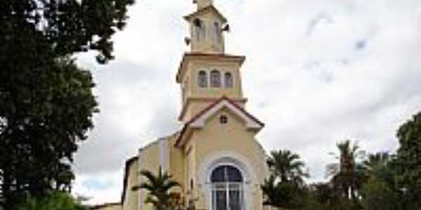 Matriz de São Sebastião em Águas Vermelhas-Foto:Vicente A. Queiroz