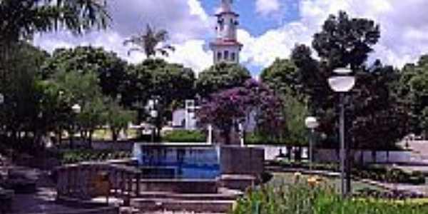 Praça da Matriz de Águas Vermelhas-Foto:sawuelbruno™