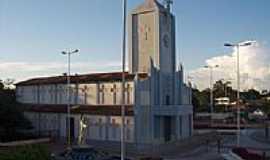 Santo Antônio do Içá - Praça da Igreja de Santo Antônio do Içá foto osbneto