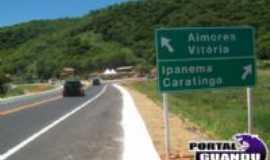 Aimor�s - PONTE SOBRE RIO MANHUA�U , Por marcos