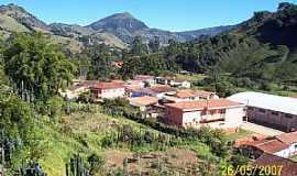 Alagoa - Alagoa-MG-Parcial da cidade e suas montanhas-Foto:edpassos