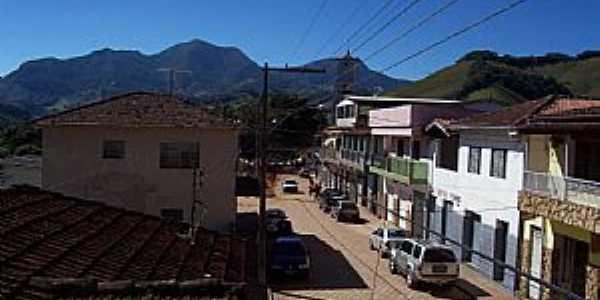 Alagoa-MG-Centro da cidade-Foto:edpassos