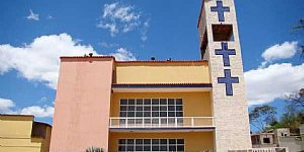 Alpercata-MG-Matriz do Senhor Bom Jesus-Foto:Vicente A. Queiroz