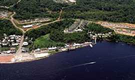 São Gabriel da Cachoeira - São Gabriel da Cachoeira-AM-Vista do rio Negro e a cidade-Foto:j.neckel