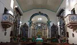 Alto Maranhão - Altar da Igreja N.S.da Ajuda-Foto:Geraldo Salomão