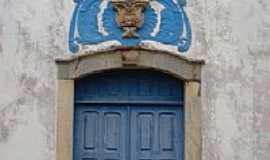 Alto Maranhão - Detalhe da fachada da Igreja-Foto:montanha