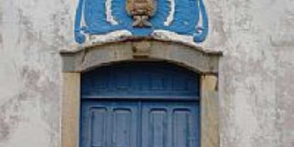 Detalhe da fachada da Igreja-Foto:montanha