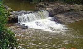Alto Rio Doce - Cachoeira do Zé Machadinho em Alto Rio Doce-Foto:Rodrigo Abreu