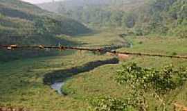 Alvinópolis - Estrada para a ponte criminosa-Foto:LazaroNM