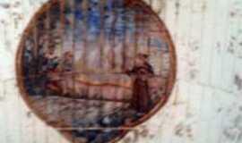 Alvorada de Minas - pintura no teto da igreja, Por ROBERTA SILVA AZEVEDO