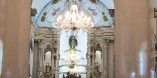 Interior da Igreja Matriz de Santo Antônio, Por débora cristiane rocha