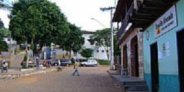 Centro de Alvorada de Minas-Foto:Ivan Correa
