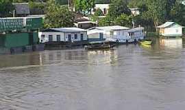 São Paulo de Olivença - São Paulo de Olivença-AM-Margem do Rio Solimões-Foto:pululele
